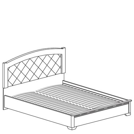 Кровать двойная Парма 805