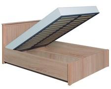 Кровать Шерлок с ПМ 1400 дуб сонома