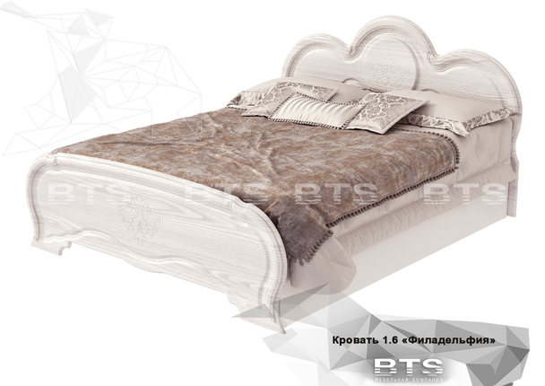 Кровать КР-03 Филадельфия