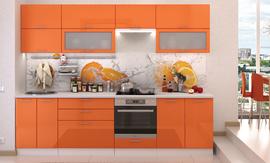 Модульная кухня Ксения Оранж