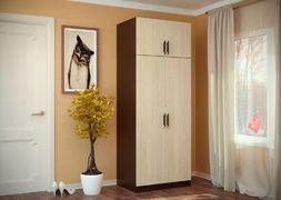 Шкаф 2-створчатый с перегородкой
