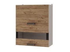 Шкаф настенный с дверями горизонтальными 6В3 Крафт