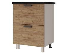 Шкаф-стол с 2-мя ящиками 6Р2 Крафт