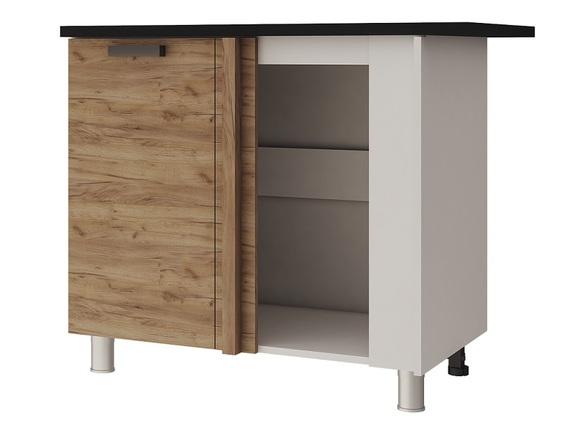 Шкаф-стол угловой 10УР2 Крафт
