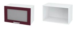 Шкаф верхний горизонтальный со стеклом ШВГС 600 КР