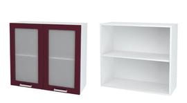Шкаф верхний со стеклом ШВС 800 КР