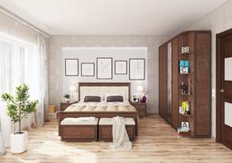 Спальный гарнитур Ливорно орех