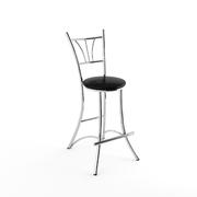 Барный стул Трилогия черный-040