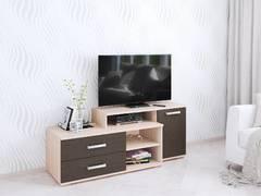 Тумба ТВ Парус-3 венге/дуб молочный